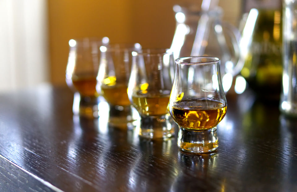 junggesellenabschied whisky tasting